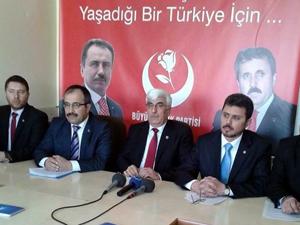 BBP Konya Başkan adaylarını açıkladı