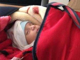 1.5 aylık bebek terk edildi