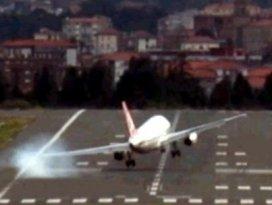THY uçağı büyük tehlike atlattı!