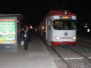Konyada tramvay kazası: 1 yaralı