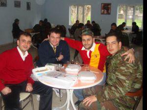 Galatasaraylılar kışlada buluştu