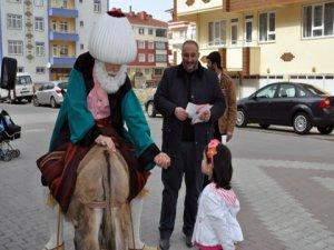 Nasreddin Hocalı seçim kampanyası