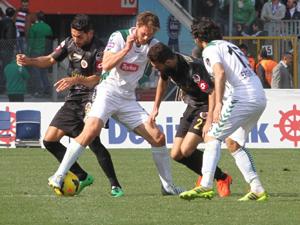 Torku Konyaspor sonunu getiremedi: 2-2