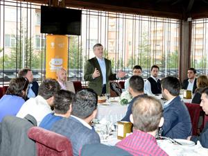 Başkan Akyürek, gençlerle buluştu