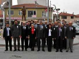 Cihanbeyli'de vergi haftası kutlamaları