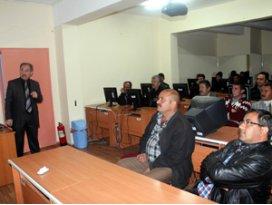 Beyşehirde pazarcılara hijyen eğitimi