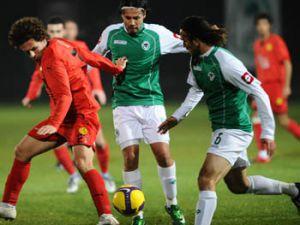 Konyaspor hazırlık maçında Eskişehirsporu 4-2 yendi