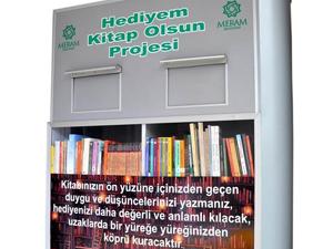 Meram Belediyesinden Hediyem Kitap Olsun kampanyası