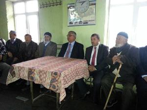 AK Partili Yerlikaya Ahırlı ve Yalıhüyükte
