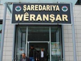 Şanlıurfada ilk Kürtçe belediye tabelası