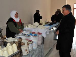 Akşehirde Yöresel Ürün Pazarı açıldı