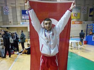 Belediyesporlu sporcu Balkan şampiyonu
