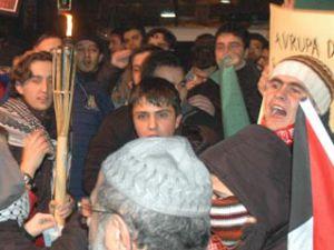 Konyada Gazze kutlamaları