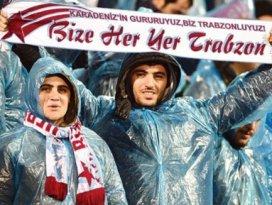 Konyada Trabzon taraftarı yok!