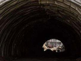 Tünel inşaatında feci ölüm