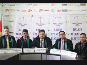 Halkın avukatları, HSYK üyesi Ertosun a tepki gösterdi