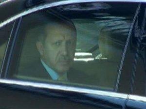 Erdoğanın konvoyunda bir ilk