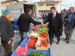 AK Parti Halkapınarda çalışmalara devam ediyor