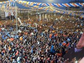 Erdoğana Denizlide müthiş karşılama