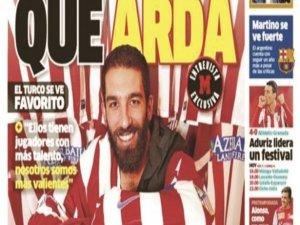 Real yetenekli Atletico cesur