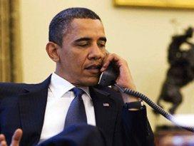 Obamadan 90 dakikalık sürpriz telefon!