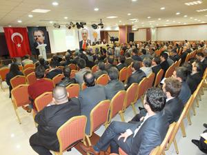 AK Partide seçim toplantısı