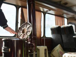 Sobalı otobüs hizmette