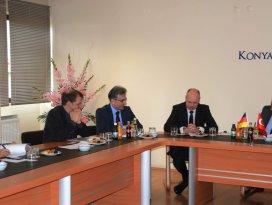 Konya ve Aşağı Saksonya arasında ticari işbirliği genişliyor