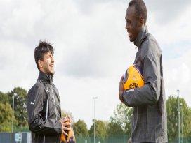 Usain Bolt futbolcu oluyor