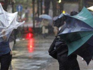 Bu illere sağanak yağış ve fırtına uyarısı!