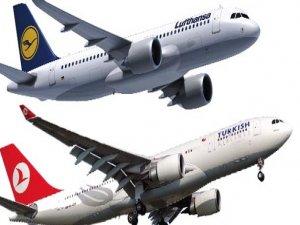 THY, Alman devi Lufthansayı korkuttu