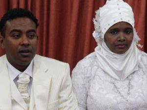 Mehir Vakfı Somalili gençleri evlendirdi