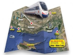 Konya-Adana 3 saat