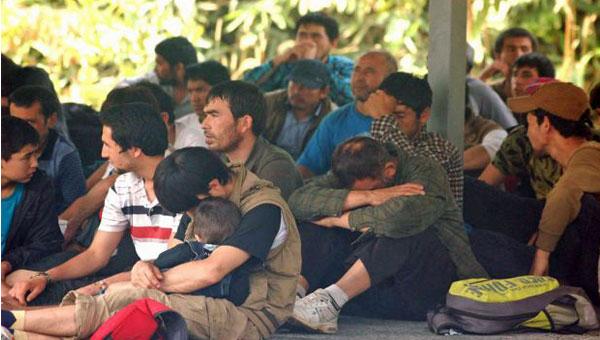 Taylandda 200 Türk mülteci bulundu