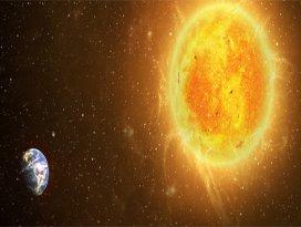 Güneşten 1 milyon kez daha parlak