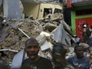 Haiti de büyük deprem