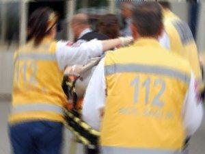 İşçi servisi kaza yaptı: 1 ölü 15 yaralı