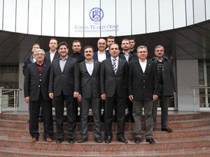 Başkan Altaydan KTOya ziyaret