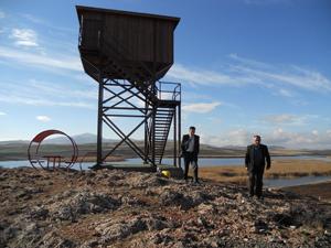 Kuluda kuş gözlem kulesi tamamlandı