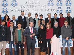 Türkiye Ekonomi Kurumu Başkanı Selçukta