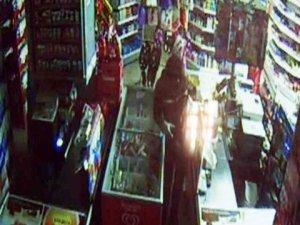 Hırsızlık şüphelisi güvenlik kamerasında