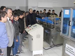 Öğrencilere sanayi ve üretimin önemi anlatıldı