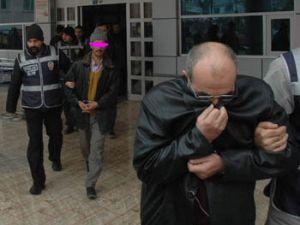 Bankayı 1,5 milyon lira dolandıran 7 kişi tutuklandı