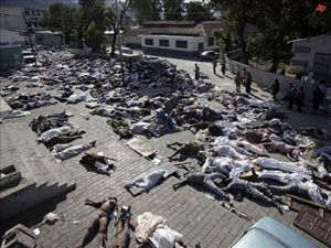 Haiti de acı bilanço