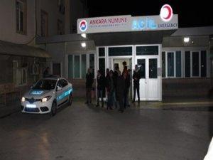 Yaralı teröristler Ankaraya sevk edildi