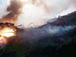 Küçük uçak düştü: 5 kişi öldü