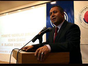 Konya şube başkanı Köseoğlu görevi bıraktığını açıkladı
