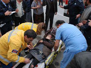 Akşehir de trafik kazası, 1 yaralı