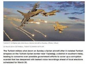 Gülen medyasından skandal Suriye manşeti