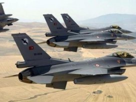 Suriyeden Türk jetine taciz